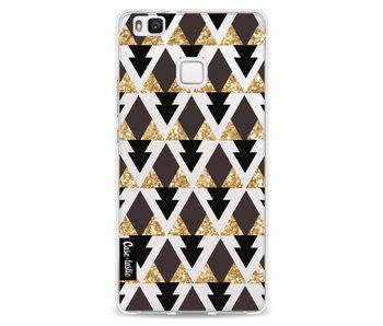 Gold Black Triangles - Huawei P9 Lite