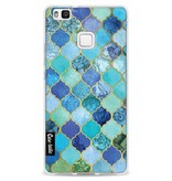 Casetastic Softcover Huawei P9 Lite - Aqua Moroccan Tiles