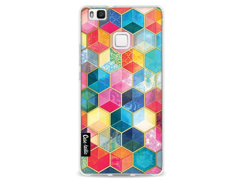 Casetastic Softcover Huawei P9 Lite - Bohemian Honeycomb