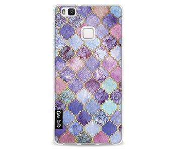 Purple Moroccan Tiles - Huawei P9 Lite