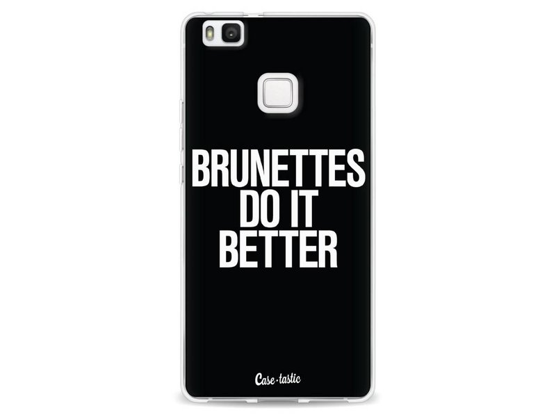 Casetastic Softcover Huawei P9 Lite - Brunettes Do It Better