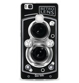 Casetastic Softcover Huawei P9 Lite - Camera Retro Lens