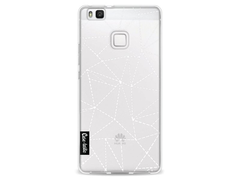 Casetastic Softcover Huawei P9 Lite - Abstract Dotted Lines Transparent
