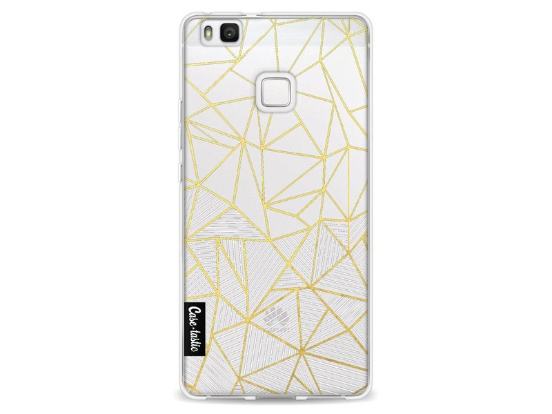 Casetastic Softcover Huawei P9 Lite - Abstraction Half Half Transparent