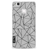 Casetastic Softcover Huawei P9 Lite - Abstraction Lines