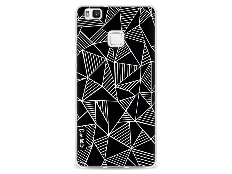 Casetastic Softcover Huawei P9 Lite - Abstraction Lines Black