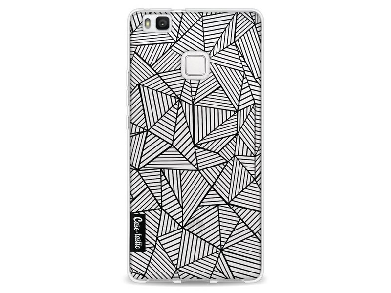 Casetastic Softcover Huawei P9 Lite - Abstraction Lines Transparent