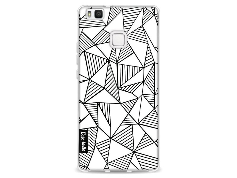 Casetastic Softcover Huawei P9 Lite - Abstraction Lines White