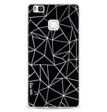 Casetastic Softcover Huawei P9 Lite - Abstraction Outline