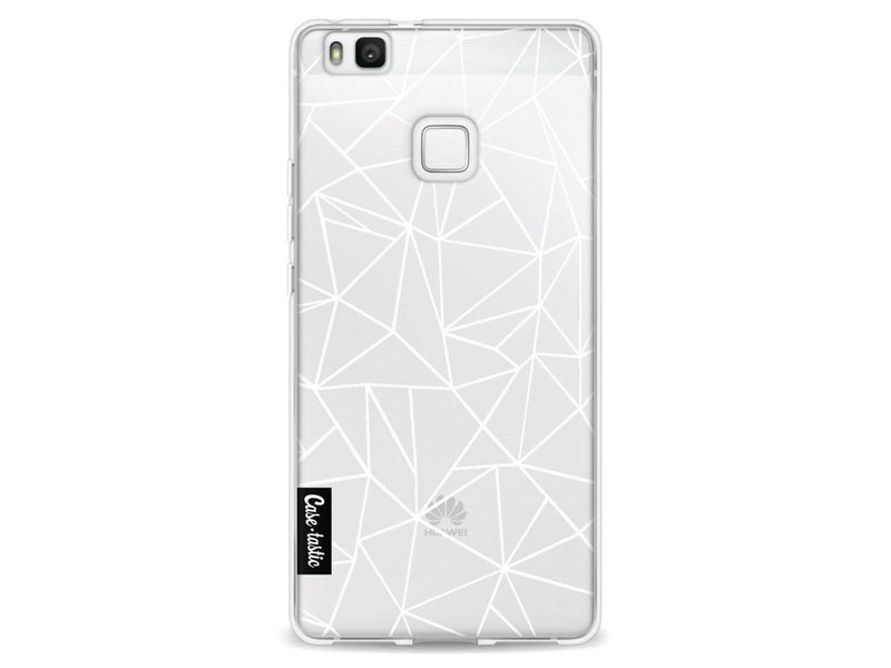 Casetastic Softcover Huawei P9 Lite - Abstraction Outline White Transparent
