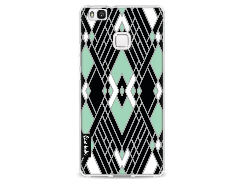Casetastic Softcover Huawei P9 Lite - Art Deco Mint