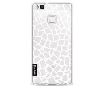 British Mosaic White Transparent - Huawei P9 Lite