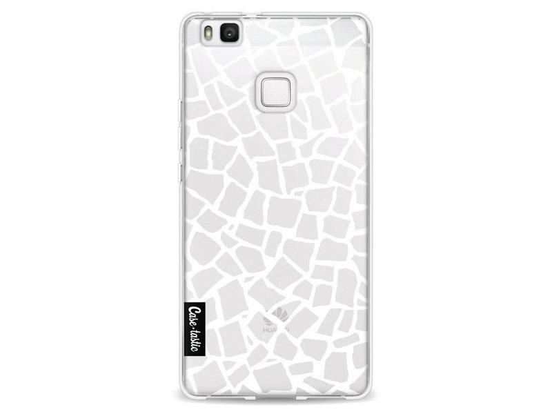 Casetastic Softcover Huawei P9 Lite - British Mosaic White Transparent