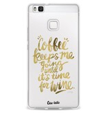 Casetastic Softcover Huawei P9 Lite - Coffee Wine Gold