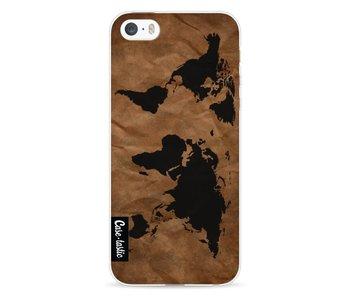 World Map - Apple iPhone 5 / 5s / SE