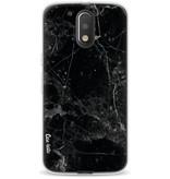 Casetastic Softcover Motorola Moto G4 / G4 Plus - Black Marble