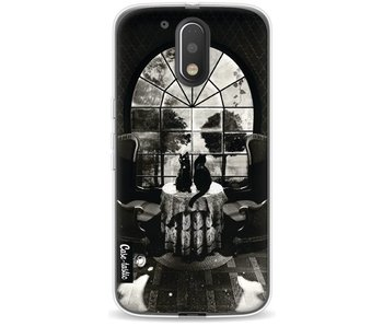 Room Skull BW - Motorola Moto G4 / G4 Plus