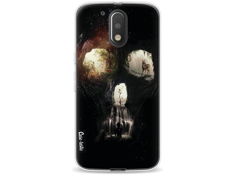 Casetastic Softcover Motorola Moto G4 / G4 Plus - Cave Skull