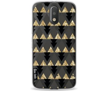 Gold Black Triangles - Motorola Moto G4 / G4 Plus