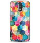Casetastic Softcover Motorola Moto G4 / G4 Plus - Bohemian Honeycomb