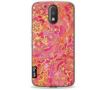 Hot Pink Barroque - Motorola Moto G4 / G4 Plus