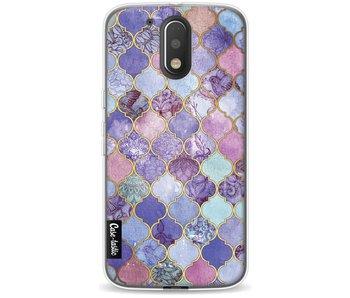 Purple Moroccan Tiles - Motorola Moto G4 / G4 Plus