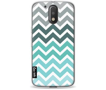 Tiffany Fade Chevron - Motorola Moto G4 / G4 Plus