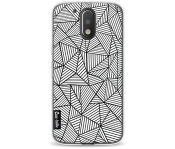 Abstraction Lines - Motorola Moto G4 / G4 Plus