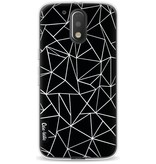 Casetastic Softcover Motorola Moto G4 / G4 Plus - Abstraction Outline