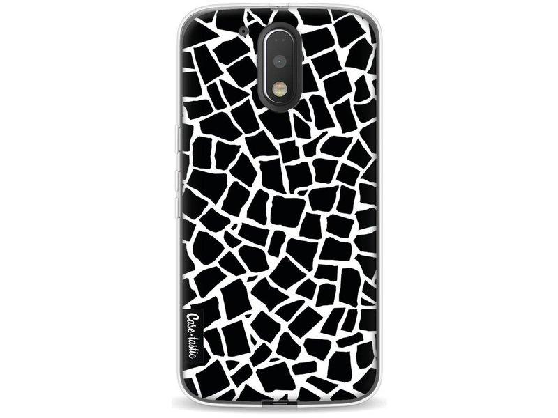 Casetastic Softcover Motorola Moto G4 / G4 Plus - British Mosaic Black