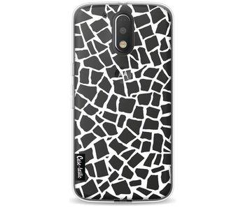 British Mosaic White Transparent - Motorola Moto G4 / G4 Plus