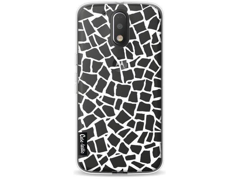 Casetastic Softcover Motorola Moto G4 / G4 Plus - British Mosaic White Transparent