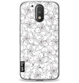 Casetastic Softcover Motorola Moto G4 / G4 Plus - Cherry Blossom Pink