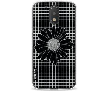 Daisy Grid Black - Motorola Moto G4 / G4 Plus