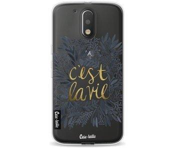 Cest La Vie BlackGold - Motorola Moto G4 / G4 Plus