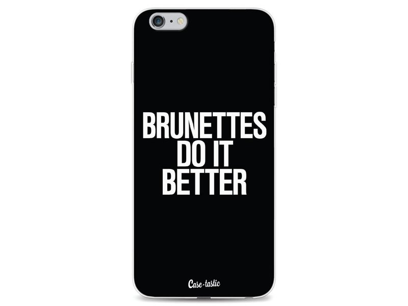 Casetastic Softcover Apple iPhone 6 Plus / 6s Plus - Brunettes Do It Better