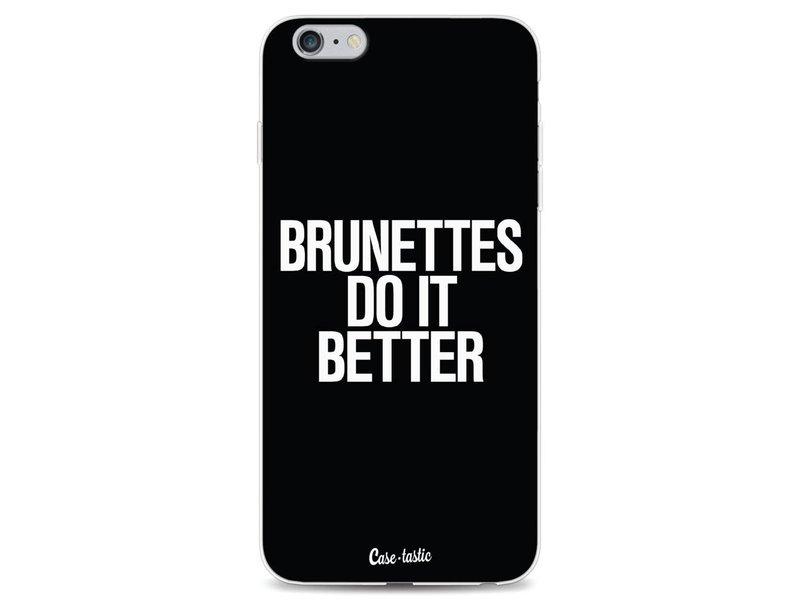 Casetastic Softcover Apple iPhone 6 Plus / 6s Plus - Brunettes Do It Better