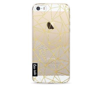 Abstraction Half Half Transparent - Apple iPhone 5 / 5s / SE