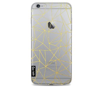 Abstraction Outline Gold Transparent - Apple iPhone 6 Plus / 6s Plus