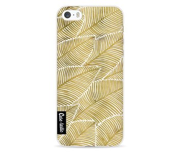 Tropical Leaves Gold - Apple iPhone 5 / 5s / SE