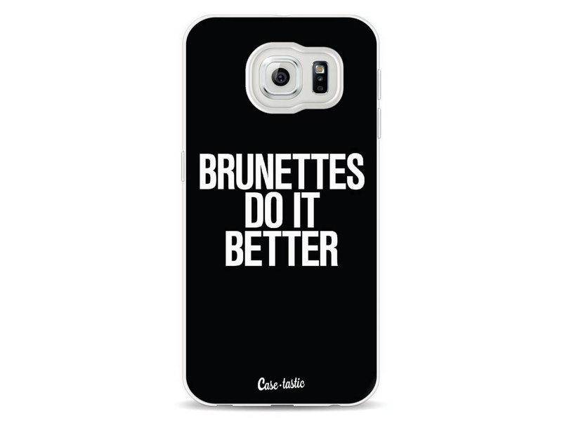 Casetastic Softcover Samsung Galaxy S6  - Brunettes Do It Better