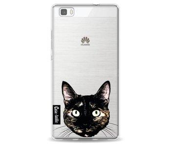 Peeking Kitty - Huawei P8 Lite