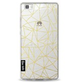 Casetastic Softcover Huawei P8 Lite - Abstraction Half Half Transparent