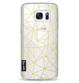 Casetastic Softcover Samsung Galaxy S7 - Abstraction Half Half Transparent