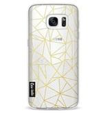 Casetastic Softcover Samsung Galaxy S7 - Abstraction Half Half Transparent