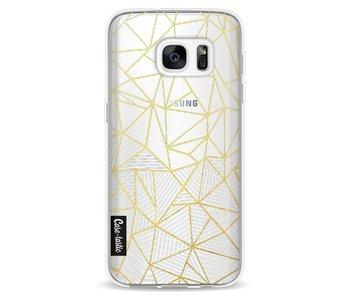 Abstraction Half Half Transparent - Samsung Galaxy S7