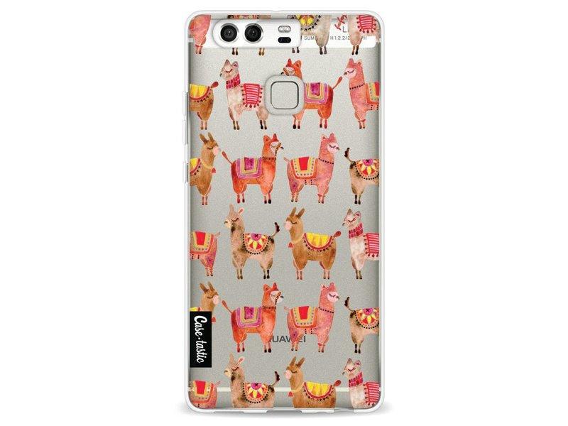 Casetastic Softcover Huawei P9 - Alpacas