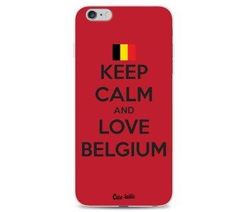 Keep Calm and Love Belgium - Apple iPhone 6 Plus / 6s Plus