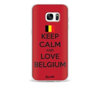 Keep Calm and Love Belgium - Samsung Galaxy S7 Edge