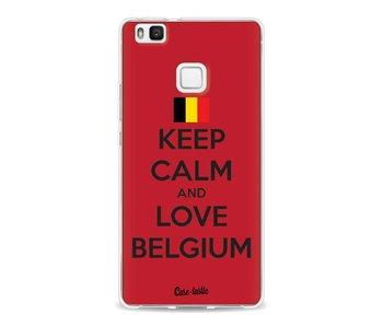 Keep Calm and Love Belgium - Huawei P9 Lite